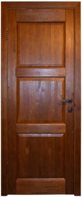 Двери из массива сосны Турин античный орех