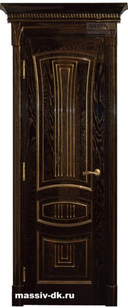 Двери из массива дуба Арника глянец