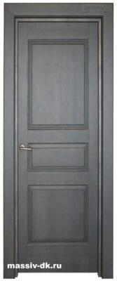 Дверь из массива ольха 5 зеленая