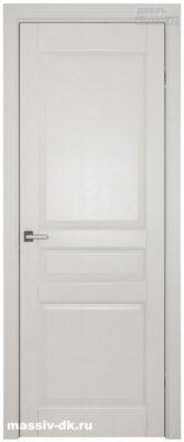 Дверь из массива ольхи Валенсия ОКА белая