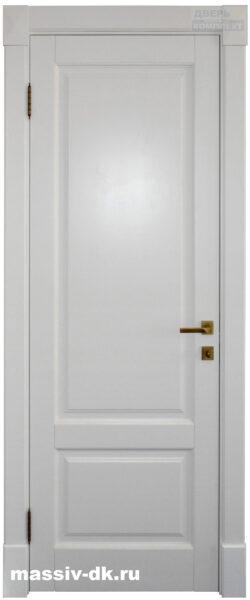 Двери из массива березы Альта белая