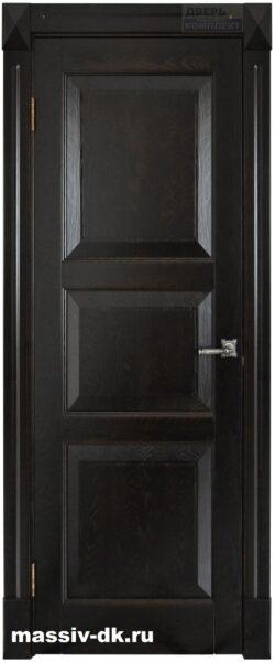 межкомнатная дверь из массива ясеня Верона венге