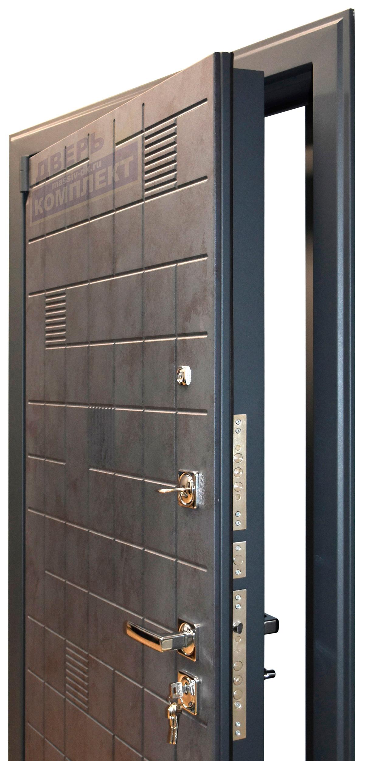 Двери входные металлические Бетон