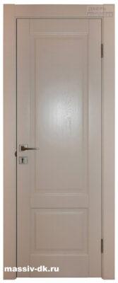 Дверь массив дуба Альта крем