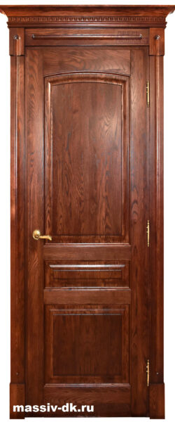 Дверь массив дуба Лида дукат