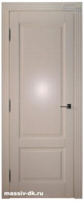 Дверь из массива березы Альта слоновая кость