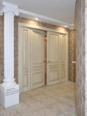 Дверь из массива дерева Альта распашонка