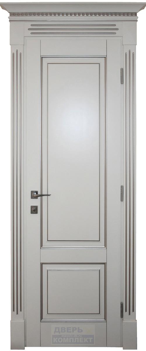 Дверь из массива дерева Альта