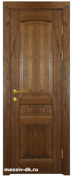 Дверь из массива дуба Лида саванна