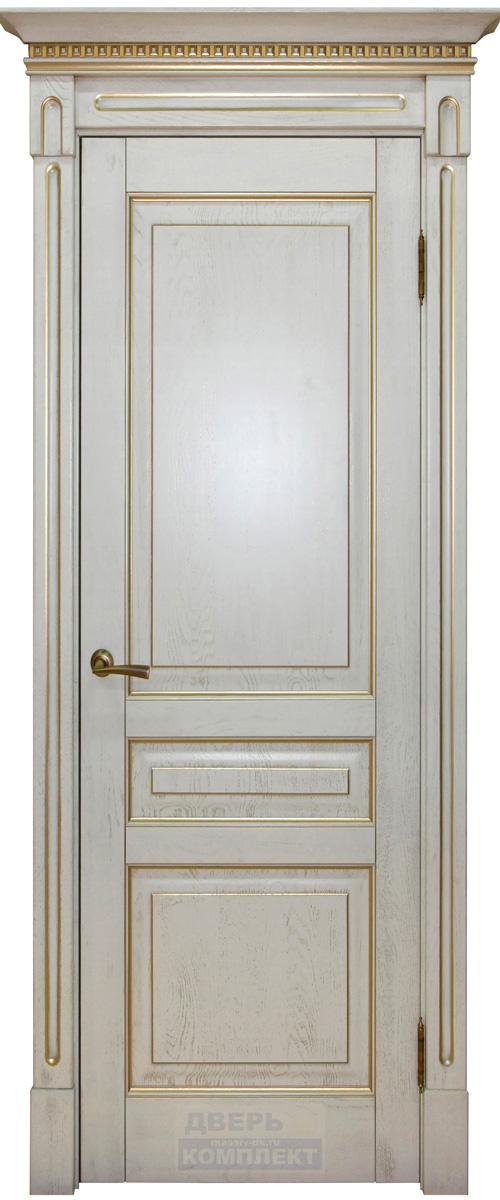 Дверь из массива дерева Стефана